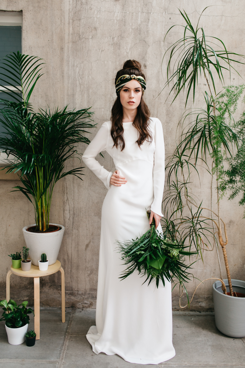 Archive 12 look book - botanical green wedding inspiration