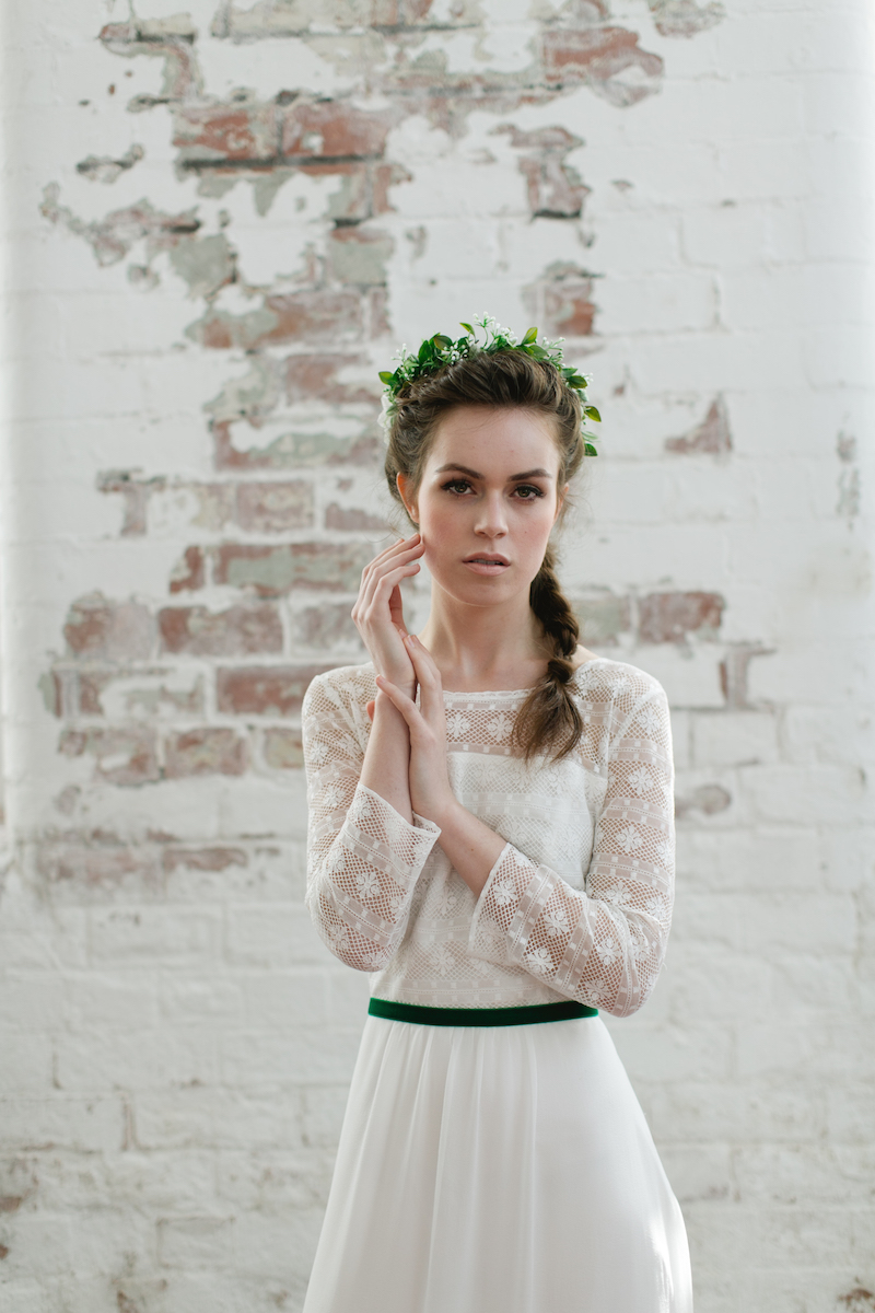 Minna Hepburn - cool modern boho wedding dresses at Archive 12