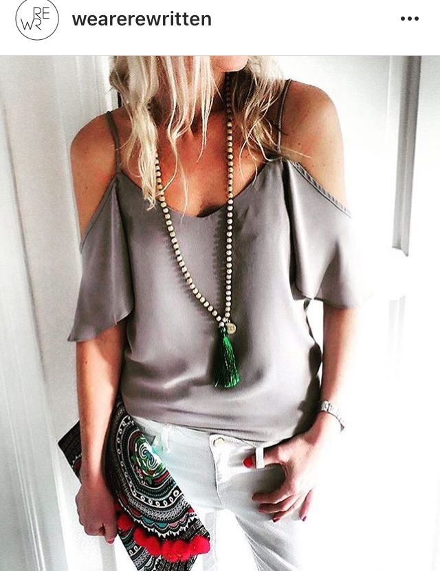 Marrakech top in concrete - Rewritten  bridesmaids