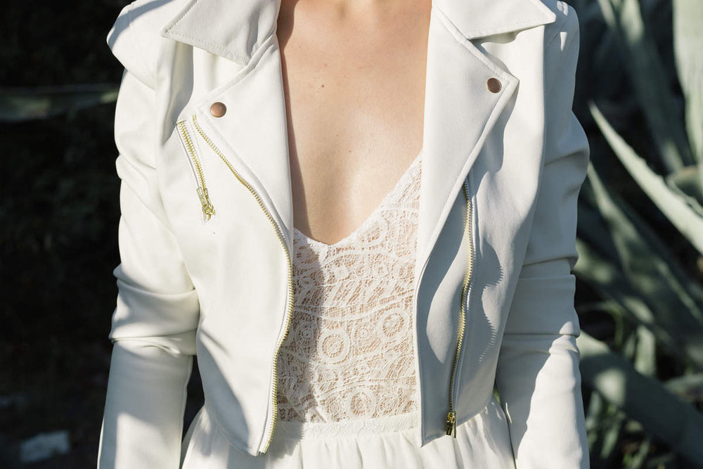 otaduy bridal leaher jacket
