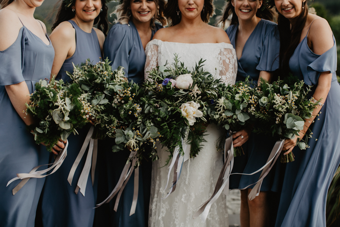 rewritten bridesmaids dresses in bluebell - Archive 12