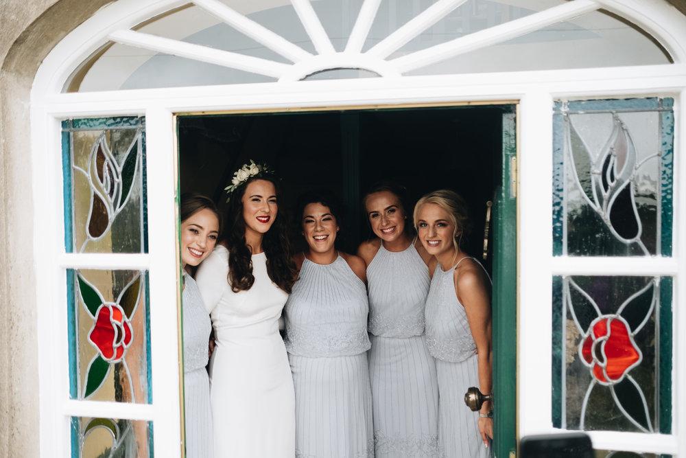 real bride wearing Anya by Minna Hepburn