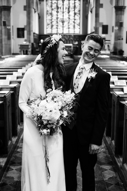 modern Minna Hepburn bride