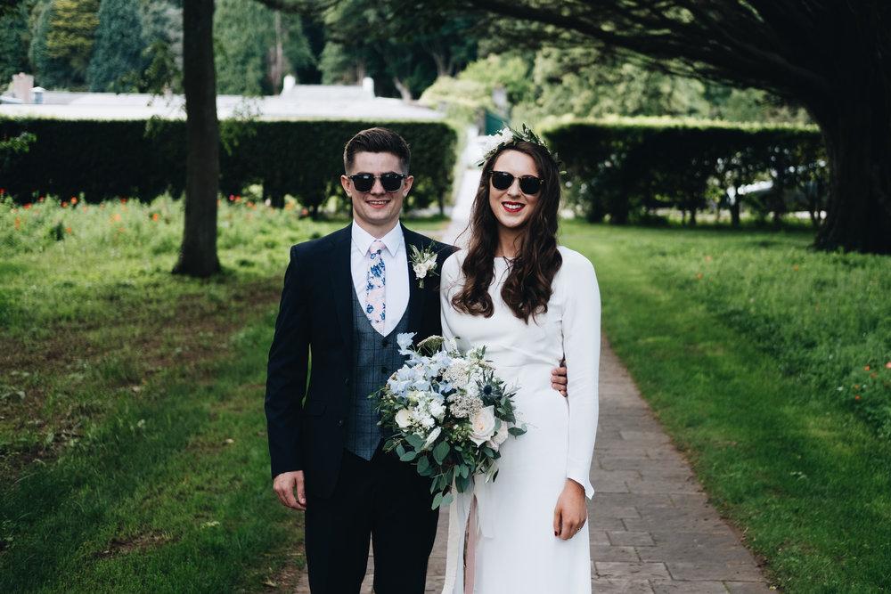 Minna Hepburn Anya dress for an Archive 12 bride