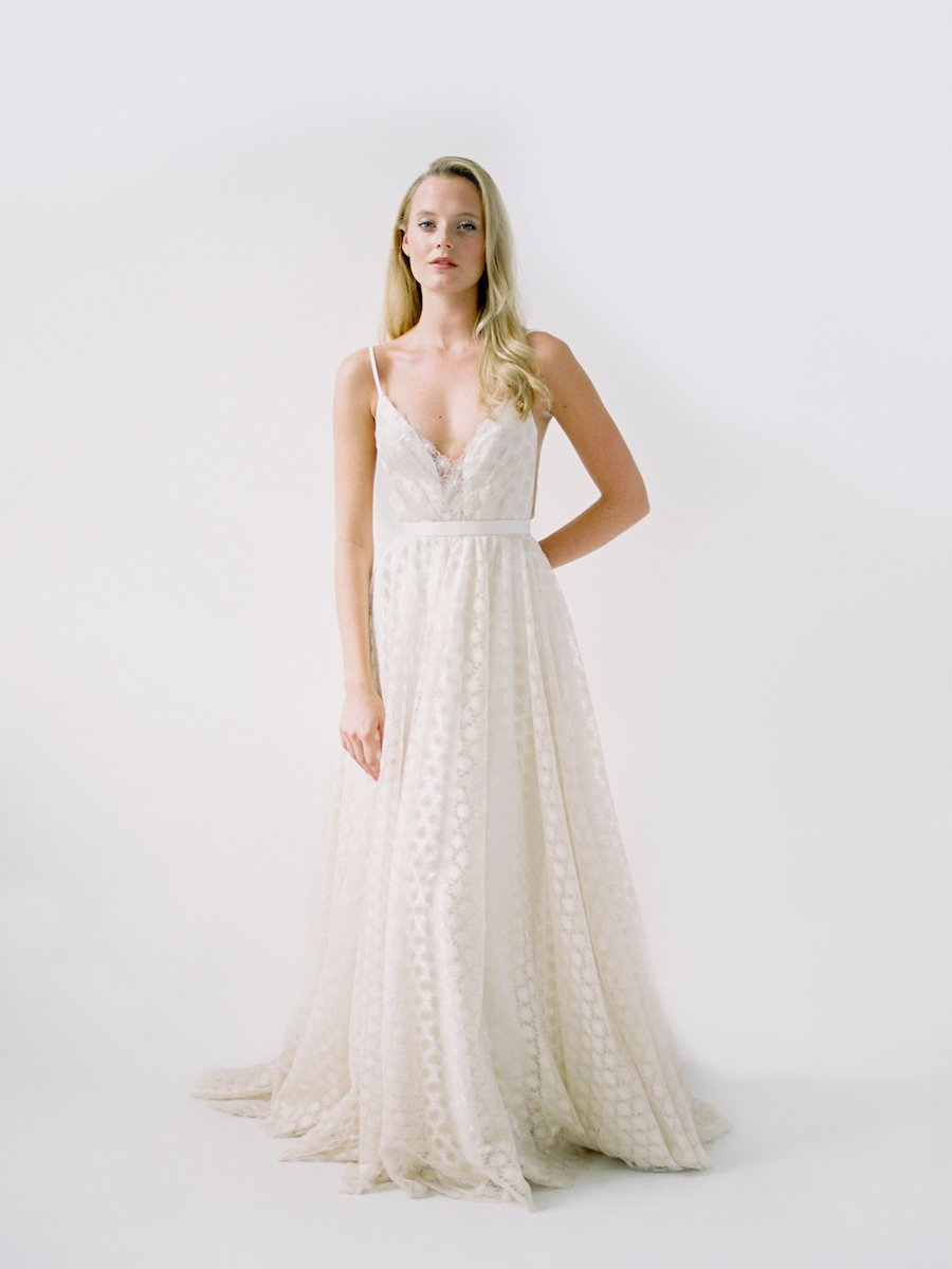 Samantha wedding dress Truvelle