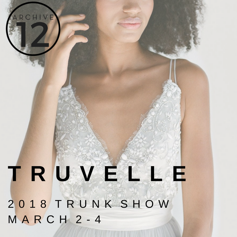 TRUVELLE TRUNK SHOW IRELAND 2018