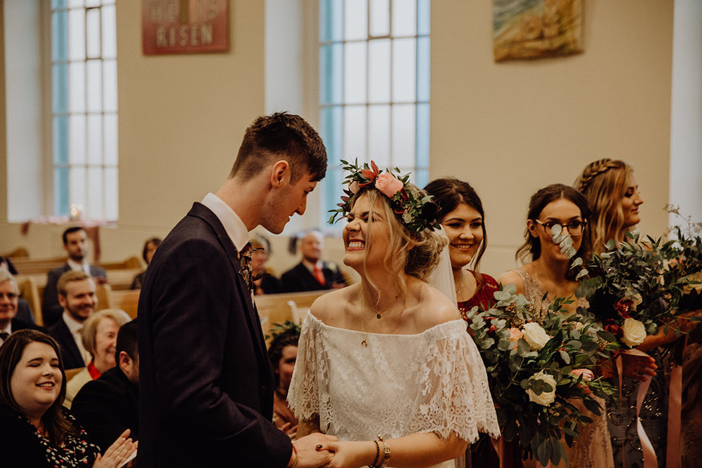 real irish wedding inspo - bohemian bride from archive 12