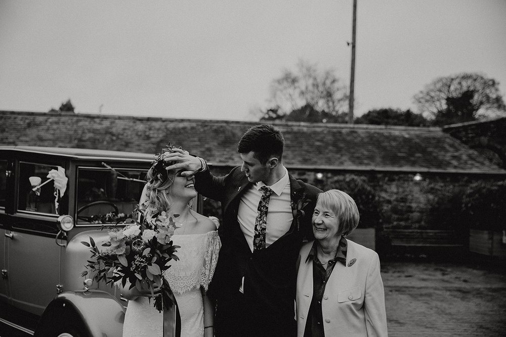 cool irish wedding - archive 12 bride