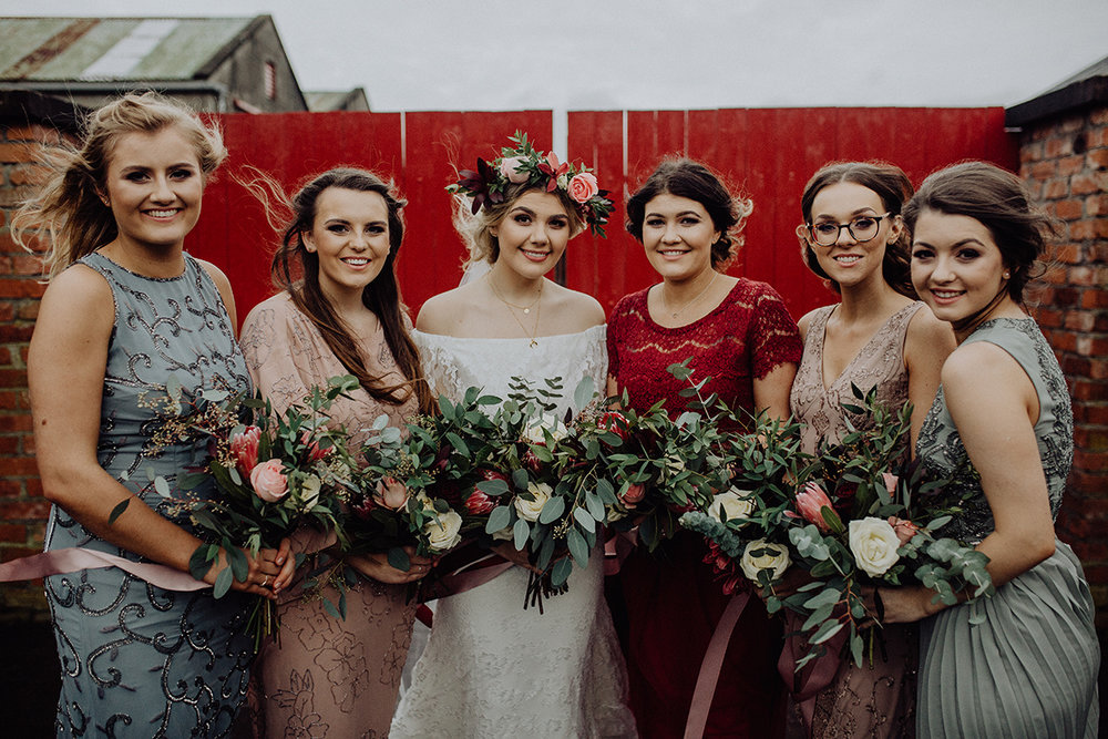 cool irish weddings - archive 12 daughters of simone