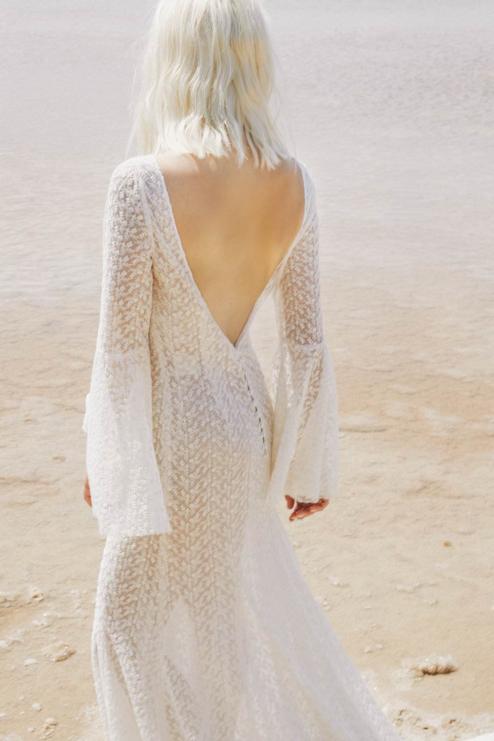 long sleeved wedding dresses - venus