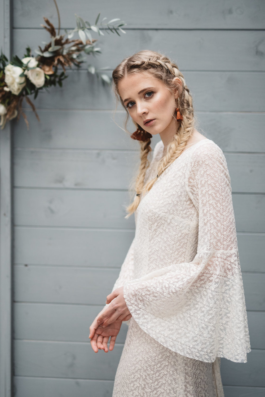 Otaduy venus dress for Inspire Weddings magazine