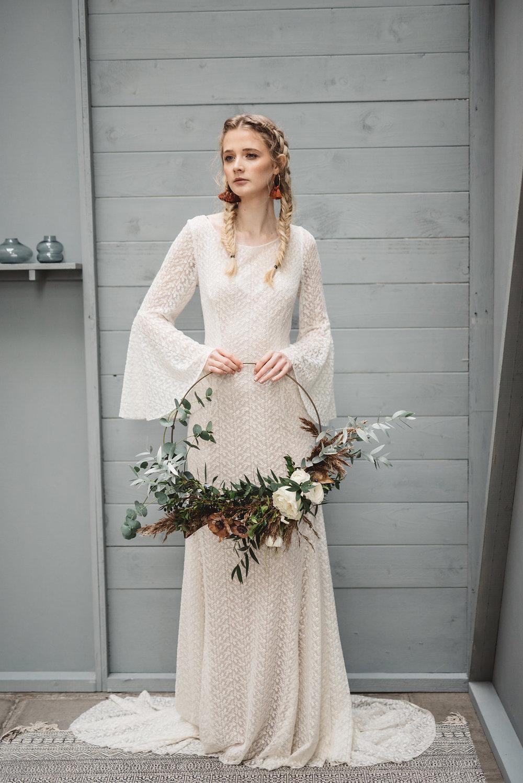 Otaduy Venus dress - Archive 12 2018 look book shoot