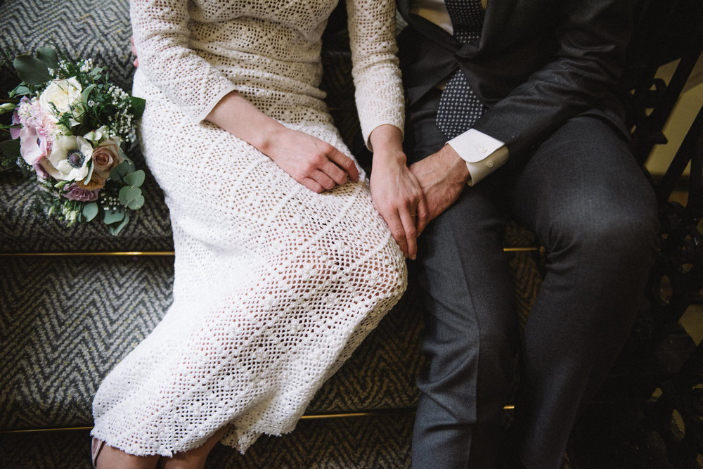 1960s vintage crochet dress