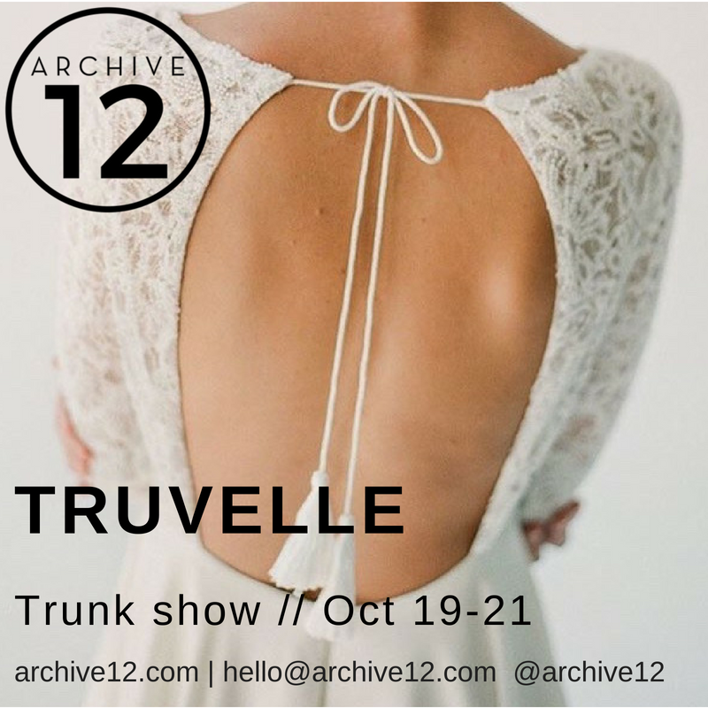 truvelle trunk show belfast