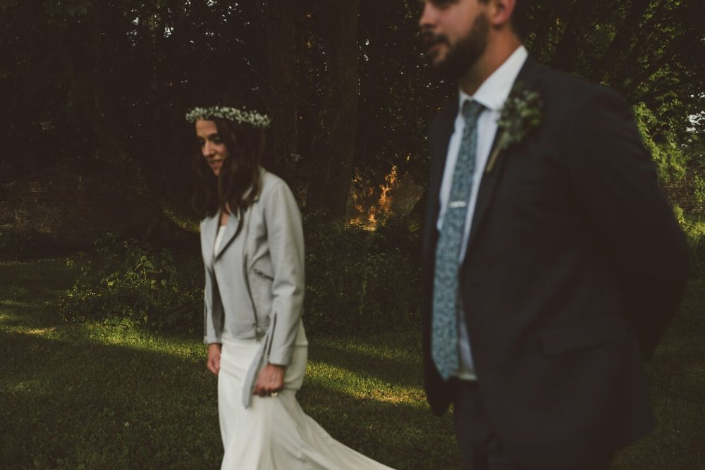 Real #a12bride Grainne wears the Kemp gown by Daughters of Simone, while her bridesmaid rocks the Florence dress from Rewritten for a stunner of a day at Ballyscullion Park