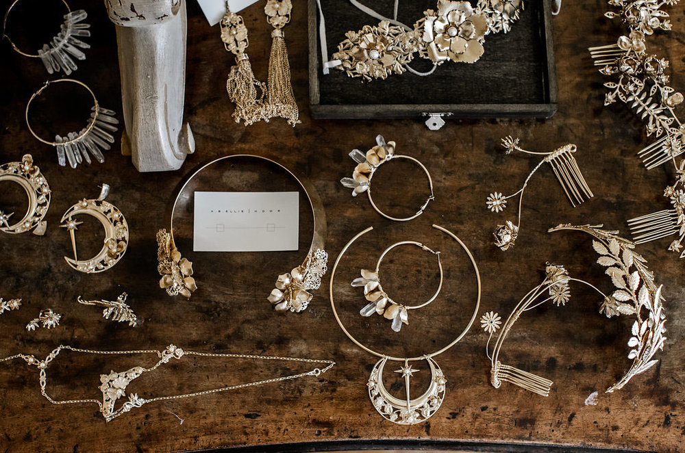 bridal party accessories by  a.b.elllie  - pic  Lilly Red