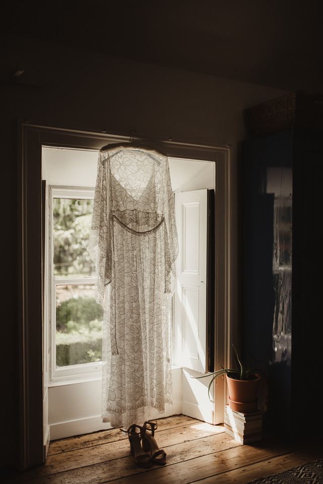 A12 bride Roisin wears the Vesper gown by And For Love
