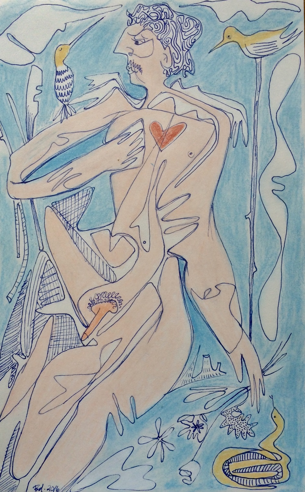 """Mon Coeur"" (Study)"