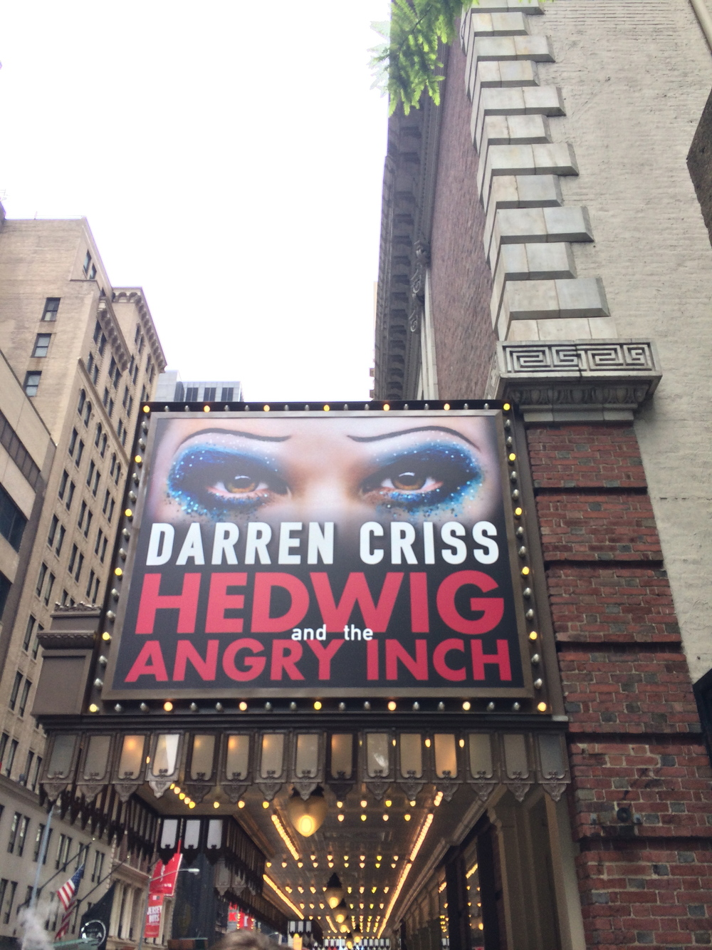 His eyes are all over New York…