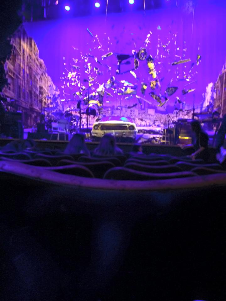 An illegal picture of the Hedwig stage