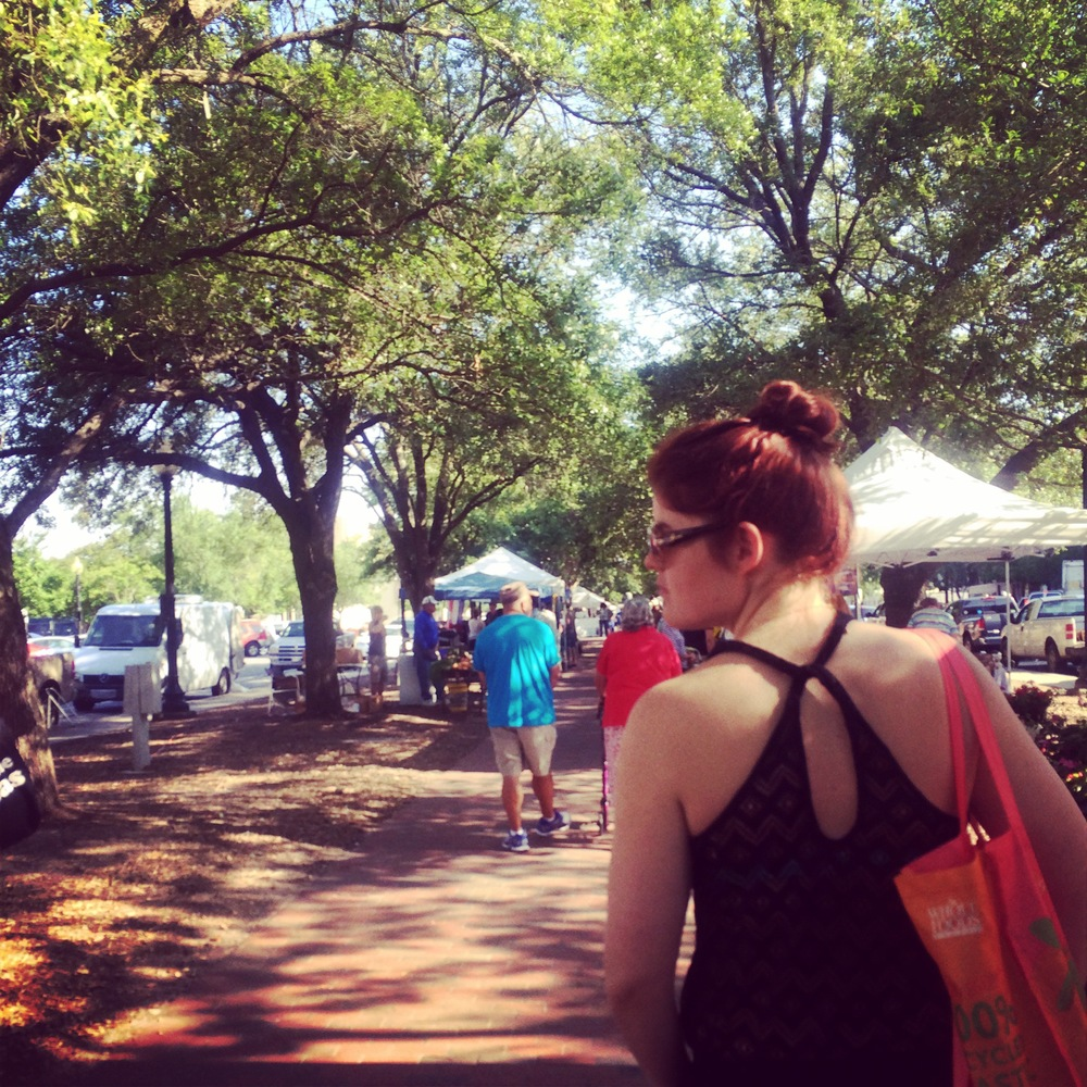 The farmer's market in Pensacola