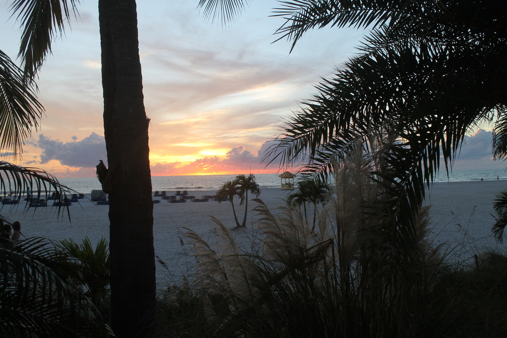 The view from Bongos on St. Pete Beach