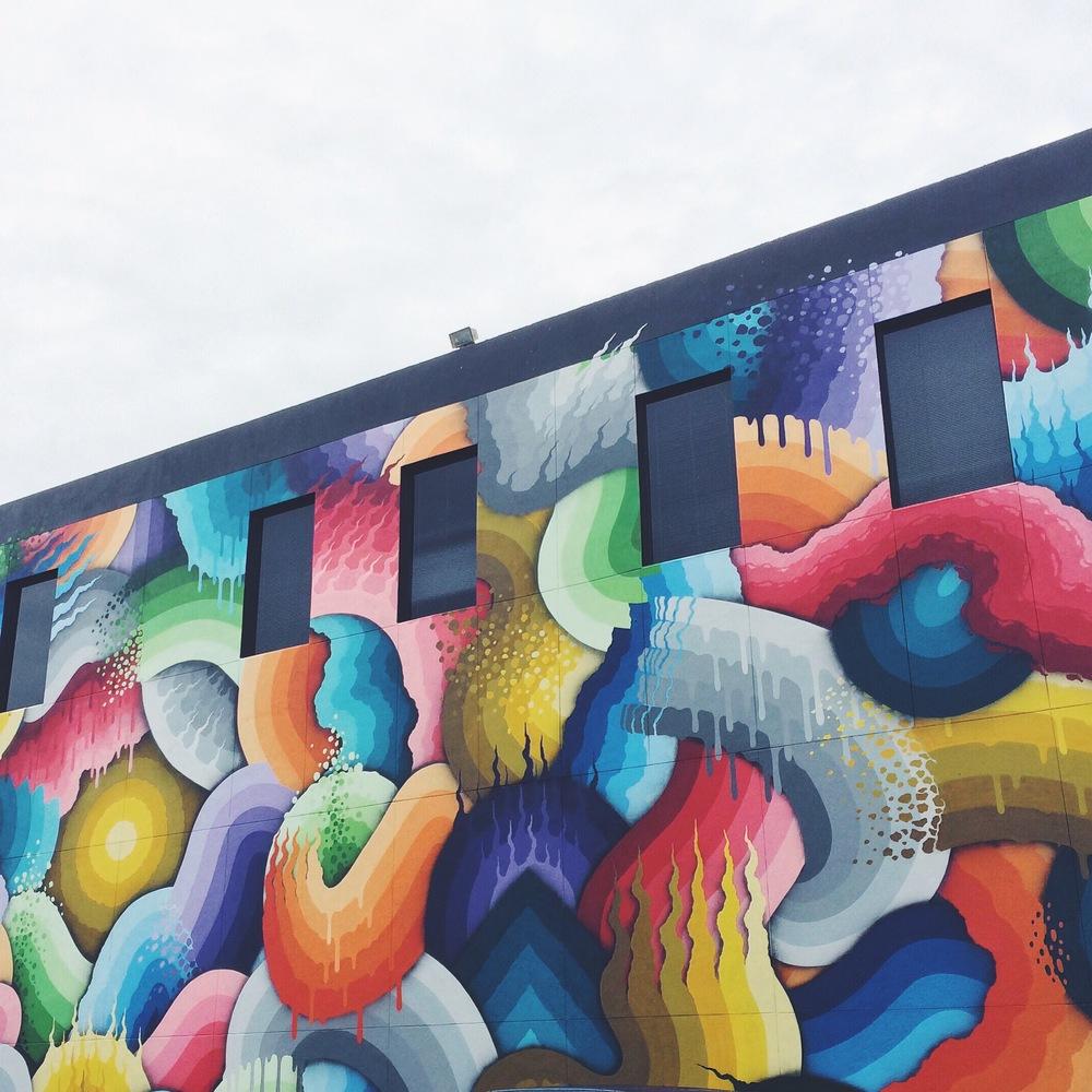 Downtown St. Pete art murals