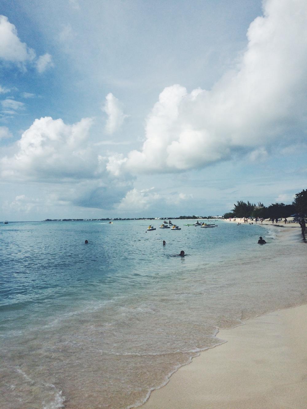 7 Mile Beach in Grand Cayman