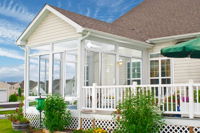 Charmant Turn Your Existing Porch Roof Or Patio Cover Into A Year Round Outdoor  Living Space.
