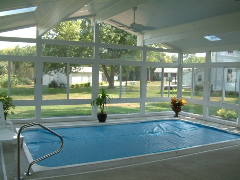 pool enclosed