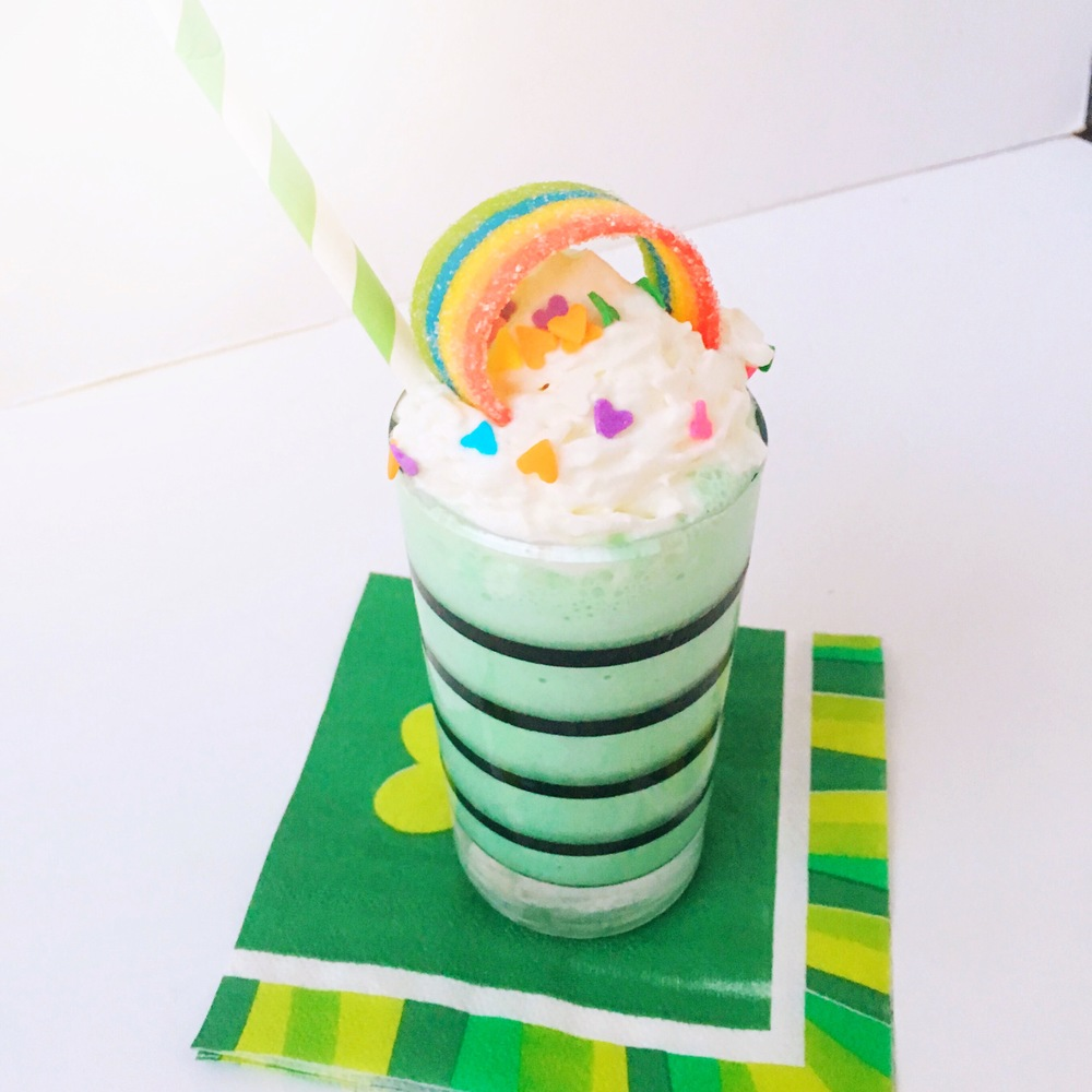 St. Patricks Shamrock Shake Recipe