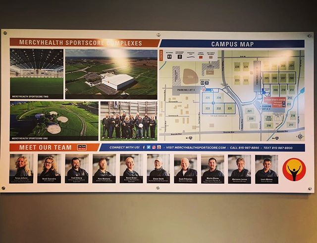 DID YOU KNOW? Our full time staff at Sportscore Complexes have 164 years of experienced combined! Wow, isn't that crazy?! Check out our new sign installed today!