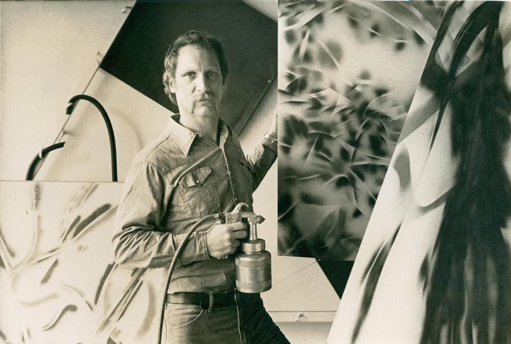 John C. Gregory in Studio c. 1969