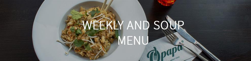 Obědy a polévky