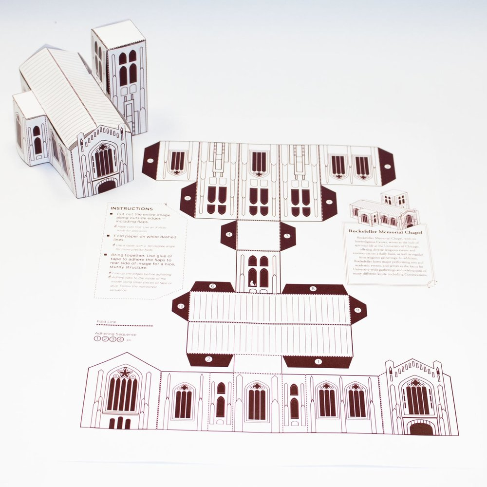 PapercraftCampus - University of Chicago