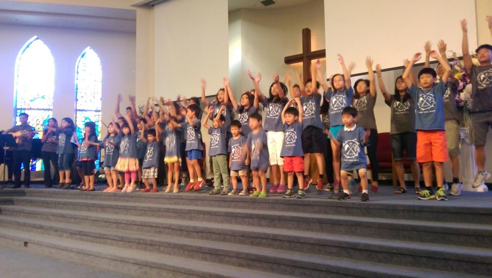 VBS 後 兒童演唱