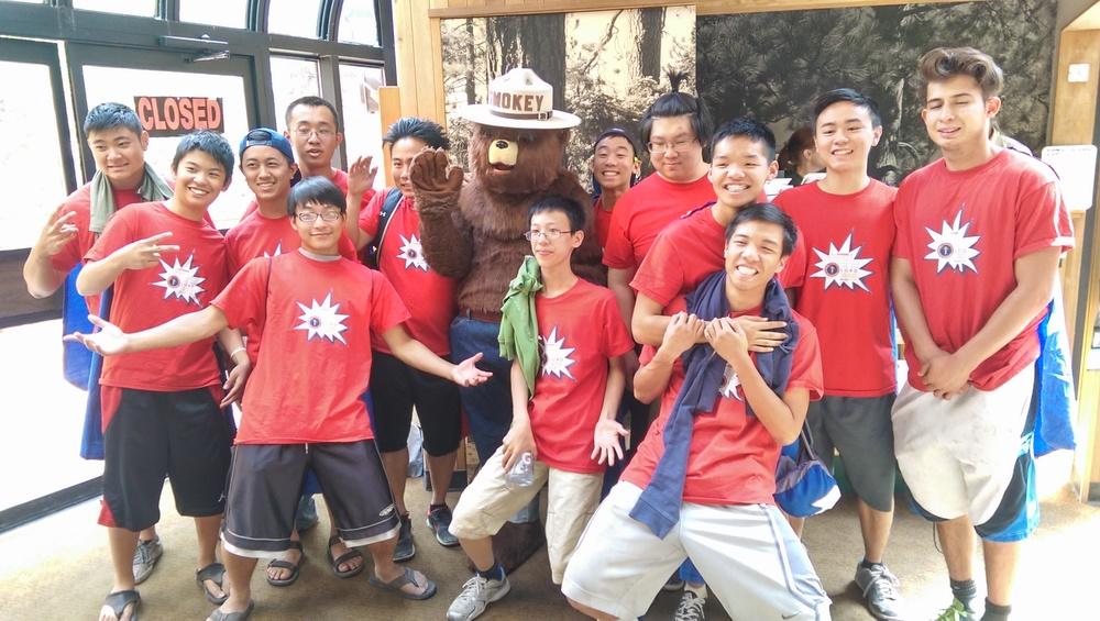 露營 Visitor Center 英文部 2015