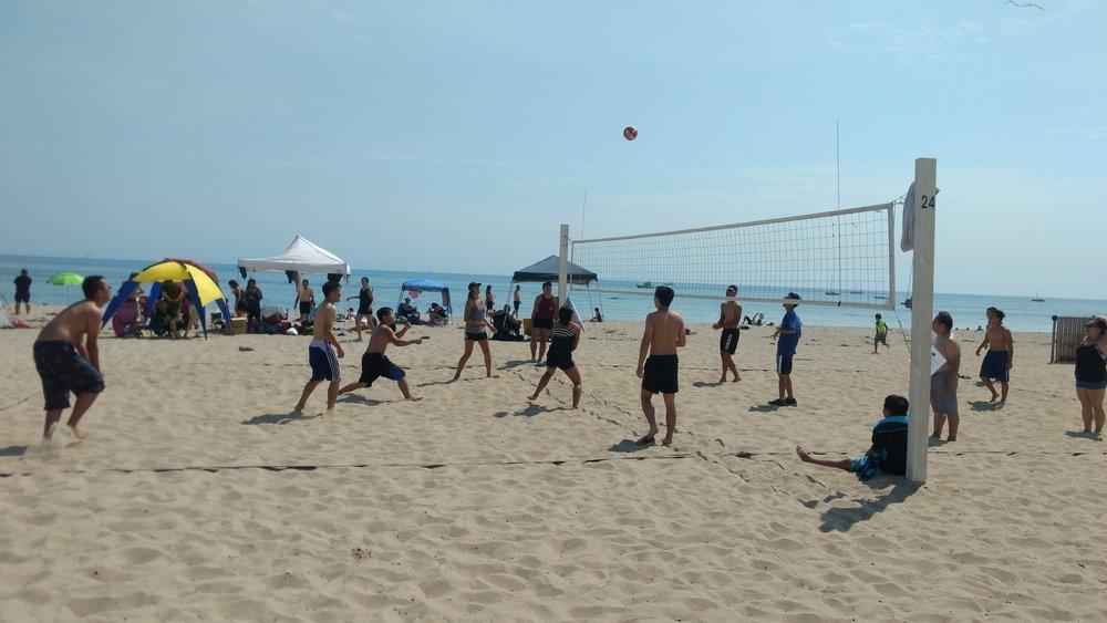 露營 勞工節 Santa Barbara Beach