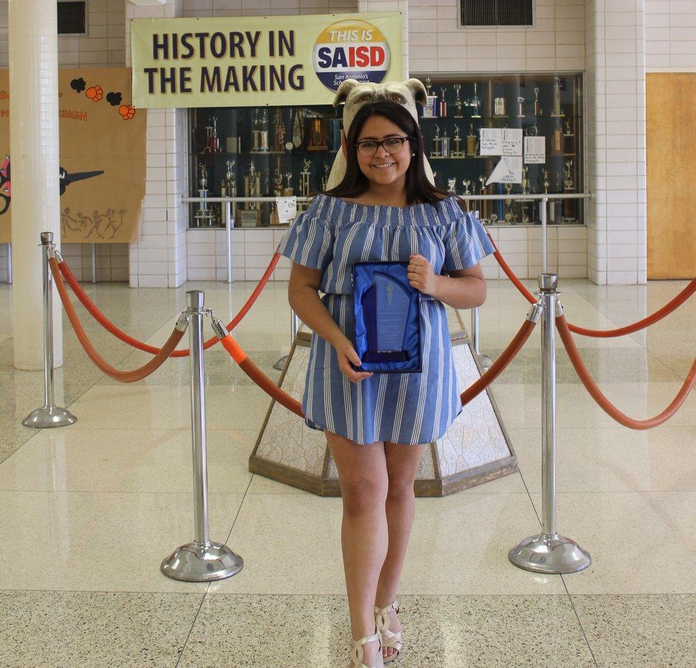 Rebekah Trevino - 2017 Burbank Valedictorian