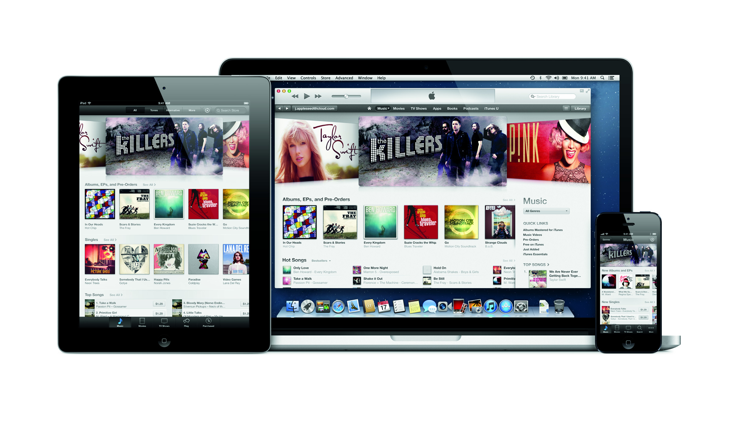 iTunes Store - iPad_MBP_iPhone