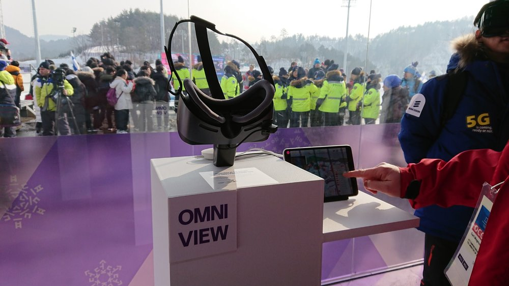 5G Pavilion, Omniview VR and Omniview