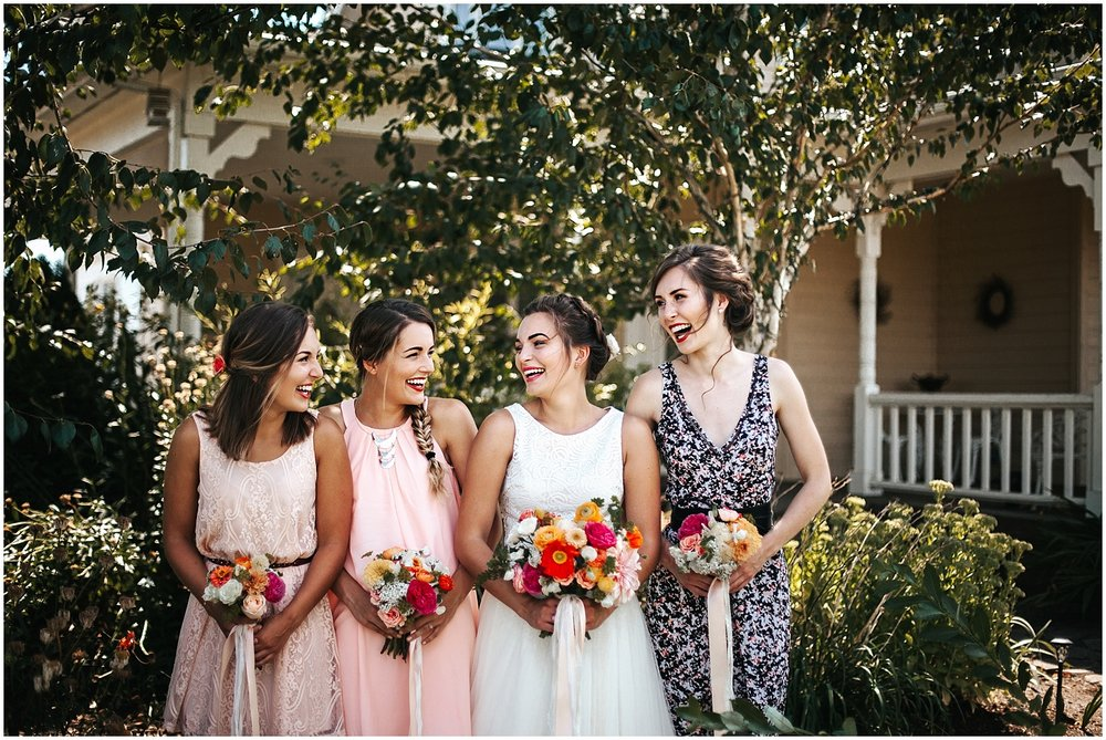 portland floral design's wedding flowers
