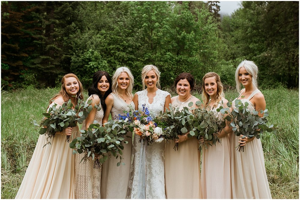 wild natural wedding flowers