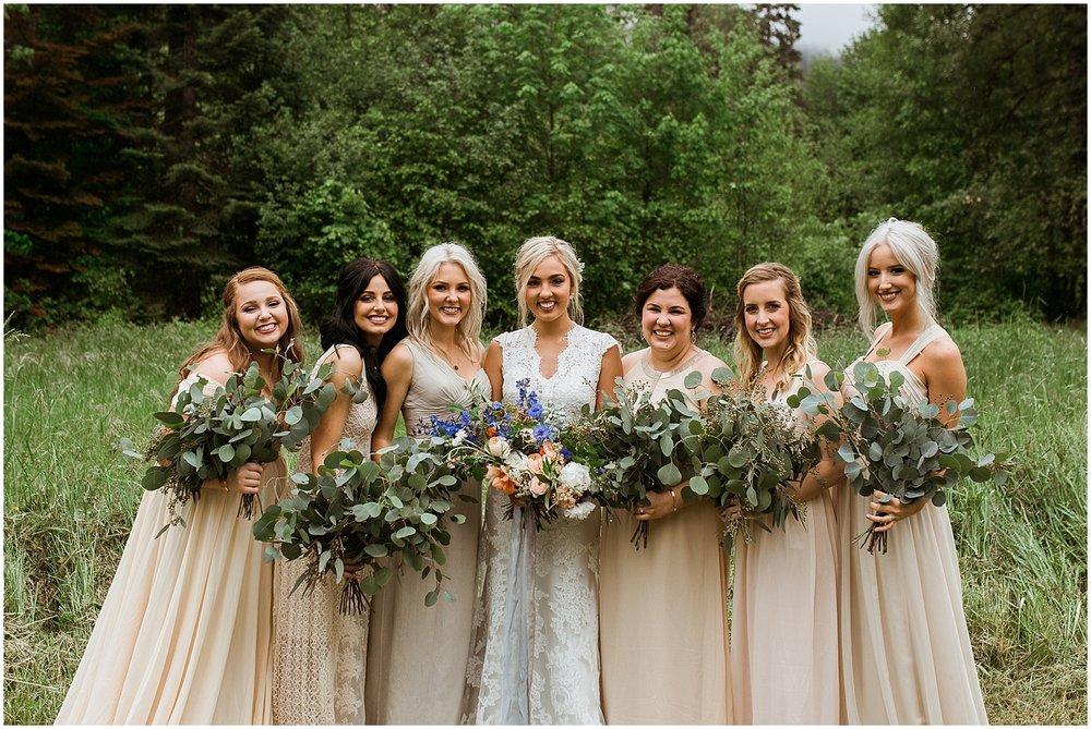 wild natural wedding flowers