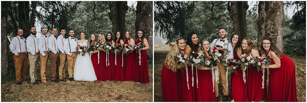 good seed floral design wedding party
