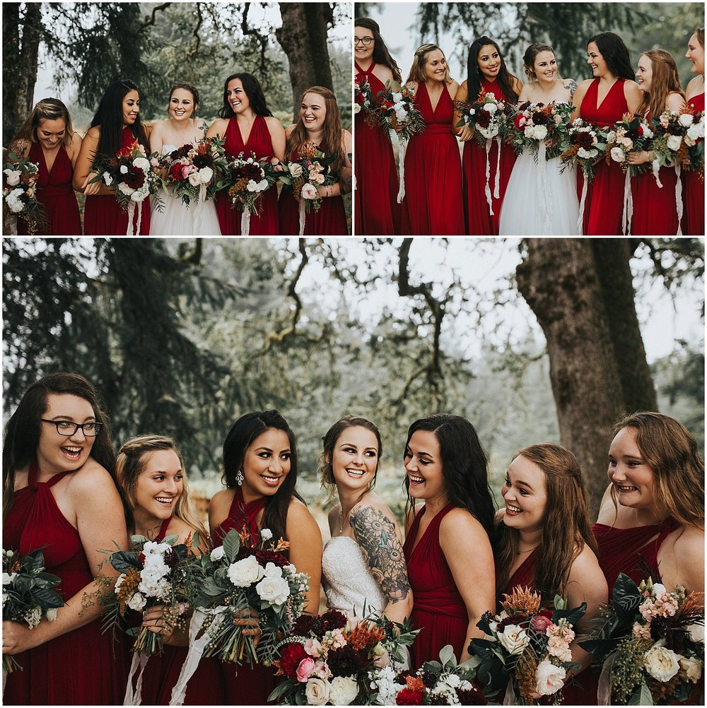 good seed floral design bridal party