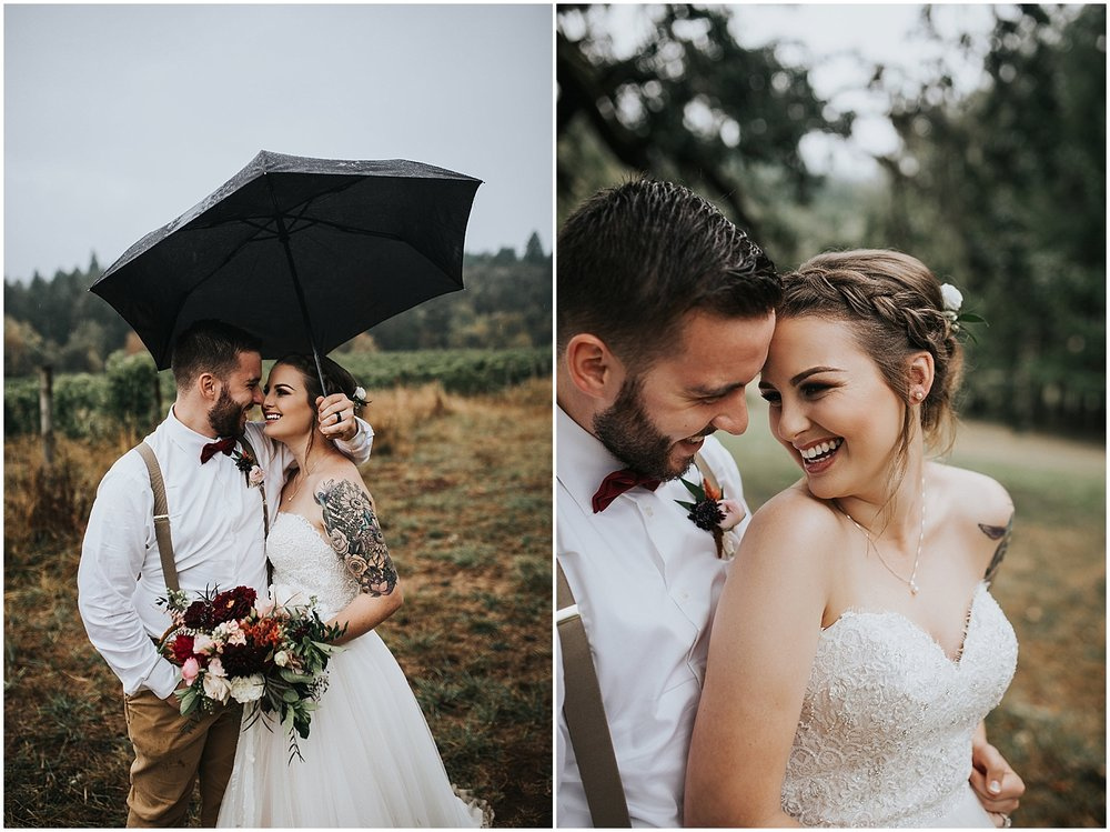 good seed floral design bride and groom with flowers