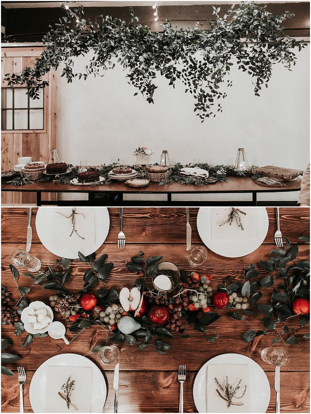 Good Seed Floral Design wedding tablescape