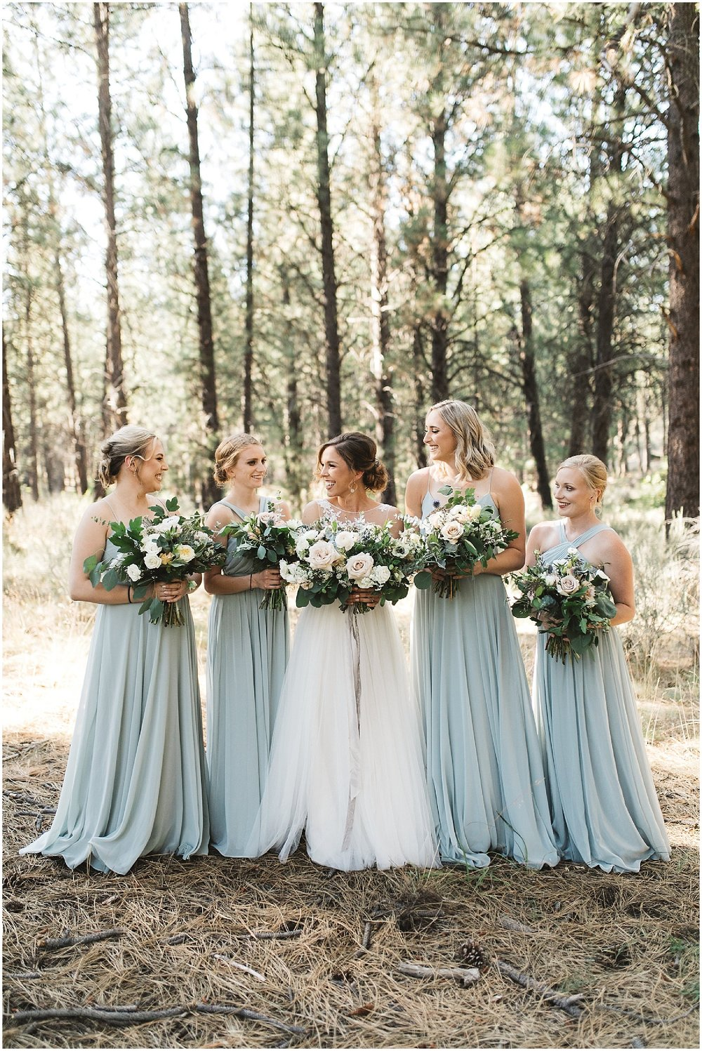 wedding party in Bend Oregon