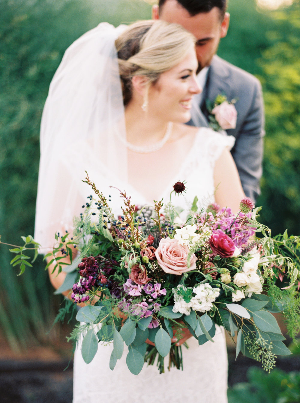 wild bridal bouquet by Good Seed Floral Design